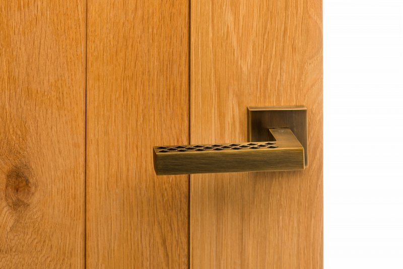 SP-228-WAB ON OAK DOOR