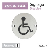 DISABLED sex symbol 76mm dia