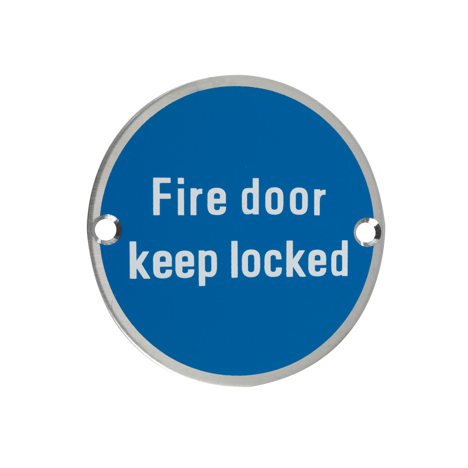 Fire Door Keep Locked Symbol Mason Architectural